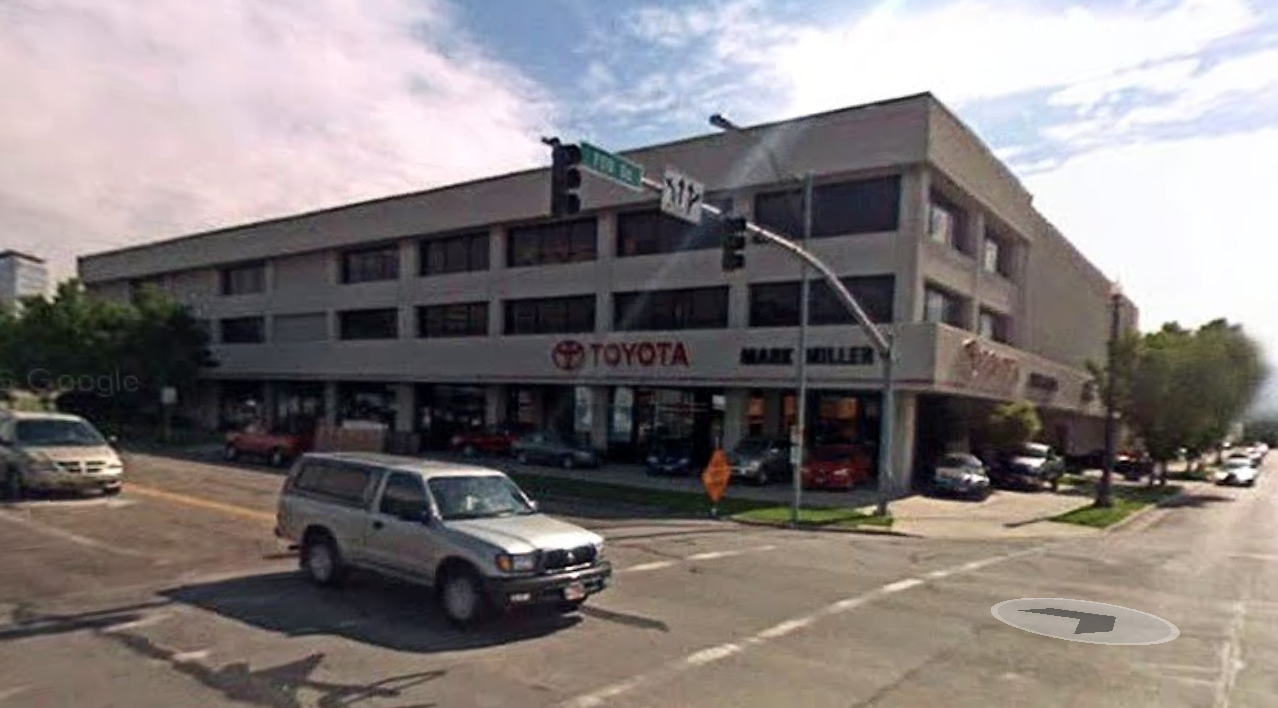 mark miller toyota building building salt lake. Black Bedroom Furniture Sets. Home Design Ideas